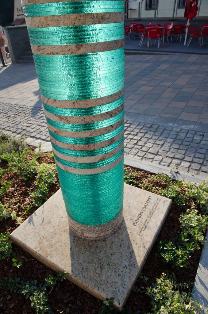 térplasztika üvegszobor pannon történet