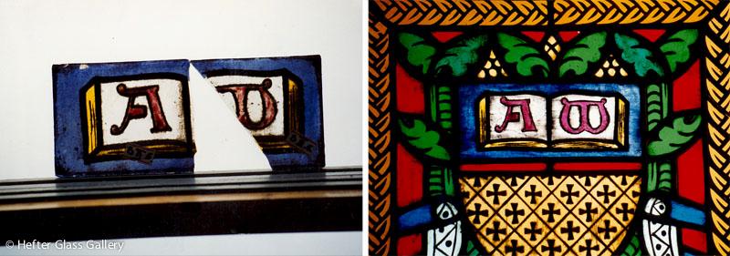 festett üveg rekonstrukció mátyástemplom hefter lászló