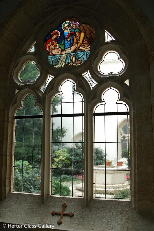 ólomüveg ablak restaurálás pannonhalmi főapátság hefter lászló
