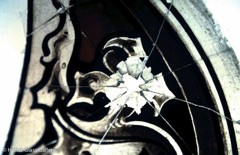 restaurálás albertkázmérpuszta ólmozott üvegablak