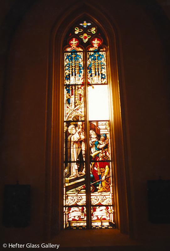 albertkázmérpuszta templomablak
