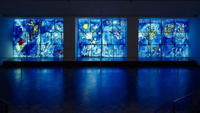 ólomüveg színes üveg chagall